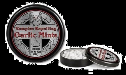 Halloween Candy For Sale Vampire Garlic Mints
